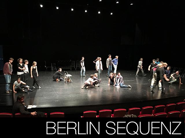 Berlin Sequenz - Création 2018/2019