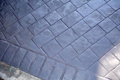 beton imprime decoratif