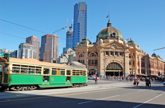Flinder Street Station Melbourne
