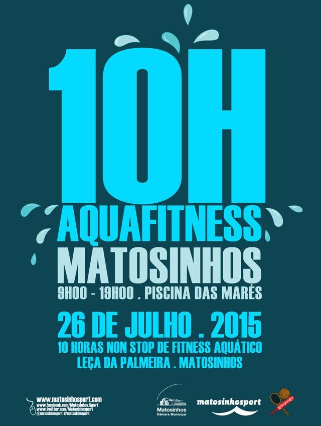 10 Horas Non Stop de Fitness Aquático