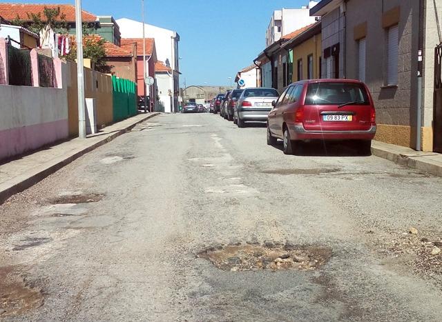 Rua Óscar da Silva, em Leça da Palmeira