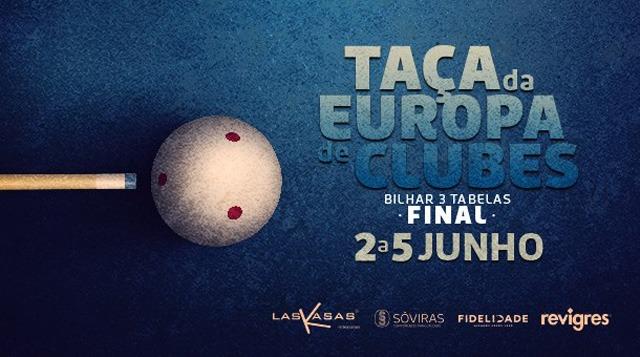 Final Taça da Europa de Bilhar