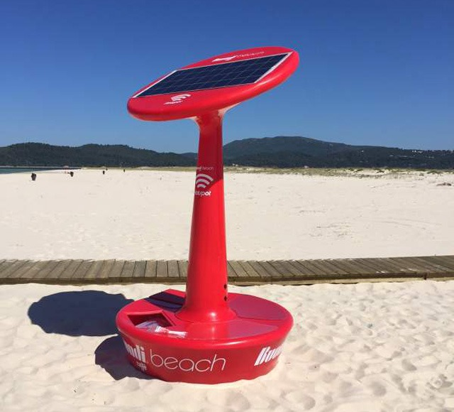 Buondi leva internet grátis a 30 praias