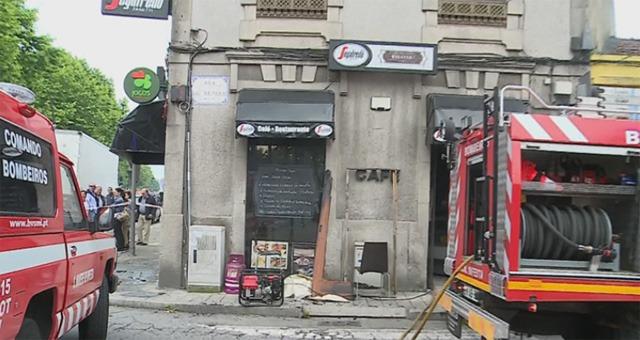 Incêndio Restaurante Senhora da Hora