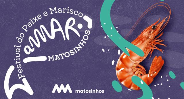 Cartaz 1º Festival do Peixe e Marisco de Matosinhos