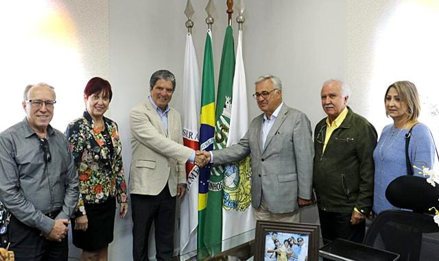 Prefeito Zelinho e Fernando Rocha