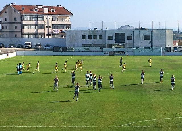 Gondomar 2 - 0 Leça FC