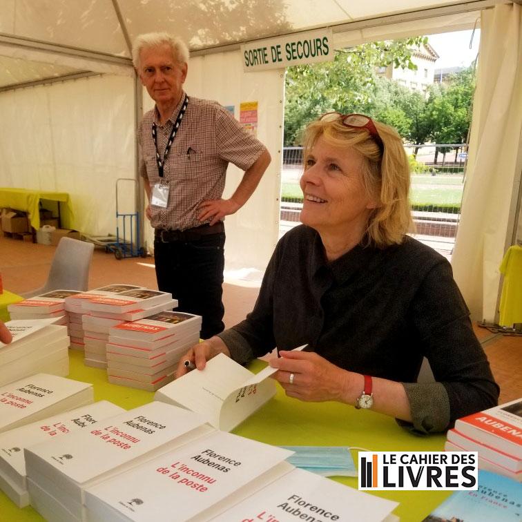 Florence Aubenas salon le Livre à Metz