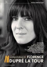 Florence Dupre Latour interviewée par le Cahier des livres