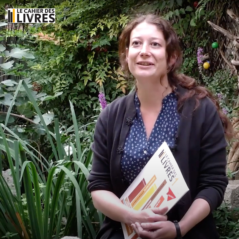 Lucie Servin à la Virgule de Tanlay pour la soirée de lancement du Cahier des livres
