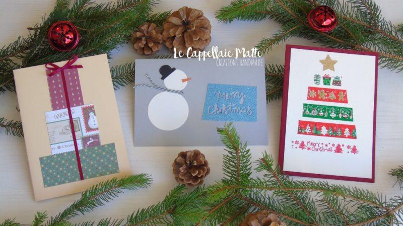 Biglietti Di Natale Fai Da Te Cardmaking Tutorial Le