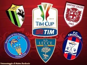 avversarie Lecce Coppa Italia