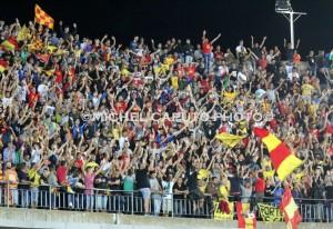 Curva Nord tifosi Lecce