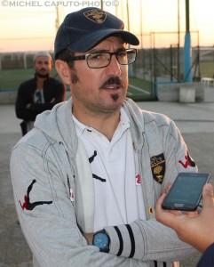 L'allenatore della Berretti Alessandro Morello