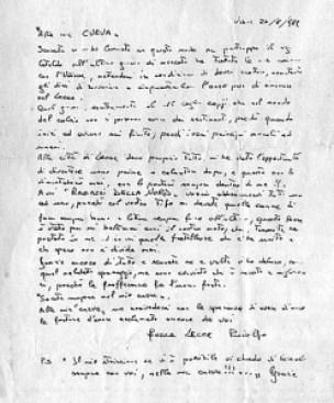 lettera Vanoli alla Nord