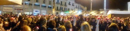 Flash mob docenti pano