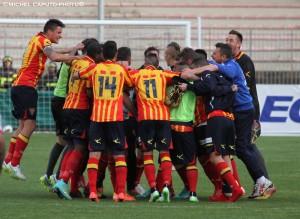 pagelle Lecce-Foggia esultanza finale