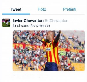 il tweet di Chevanton