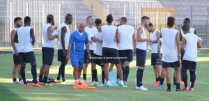 Allenamento Lecce 16-7-2015 Via del Mare