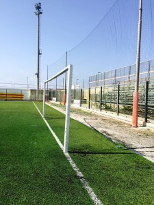 atti vandalici stadio Bianco Gallipoli 4