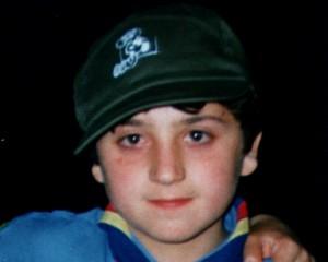Il piccolo Stefano Costa