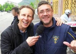 Giovanni Fasano con Cristiano Militello
