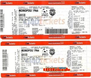 biglietti Monopoli-Lecce