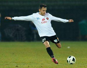 Sergio Contessa con la maglia della Reggina (fonte web)