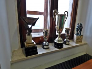 sede U.S. Lecce trofei