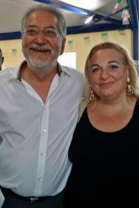 Alberto Lapenna con Daniela D'Anna