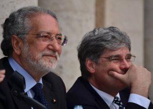 Alberto Lapenna e Paolo Del Debbio