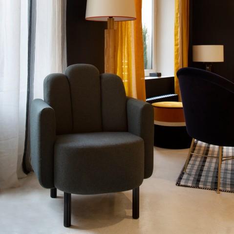 fauteuil martine de sarah lavoine vert