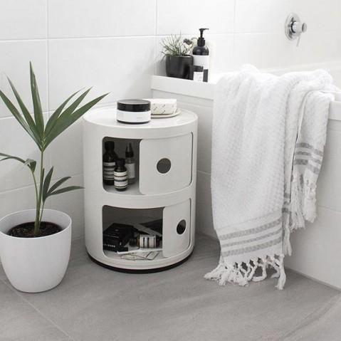 meuble de rangement componibili de kartell petit modele noir