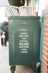 Les écrivains : Lisez avant d'écrire