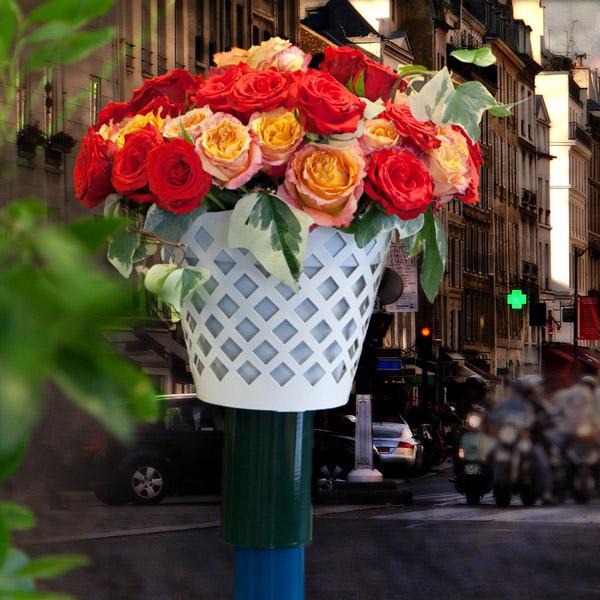 chapotelet bouquet de rose