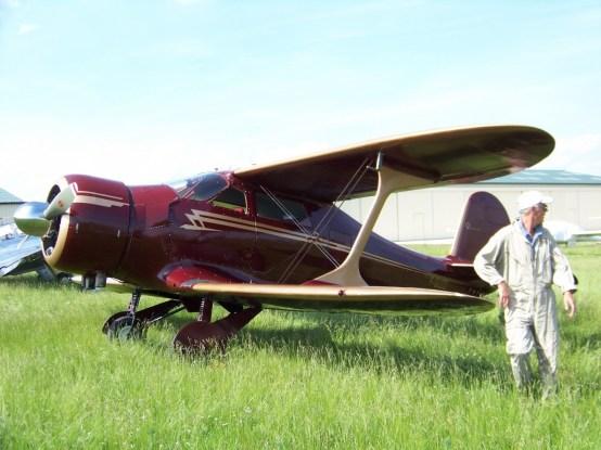 Beechcraft D.17S Staggerwing F-GUZZ 0009