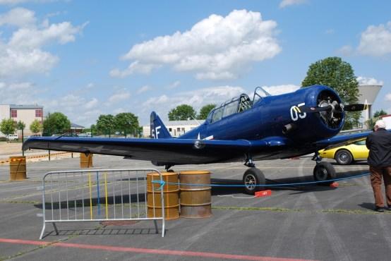 North American T-6 F-AZSR 0001