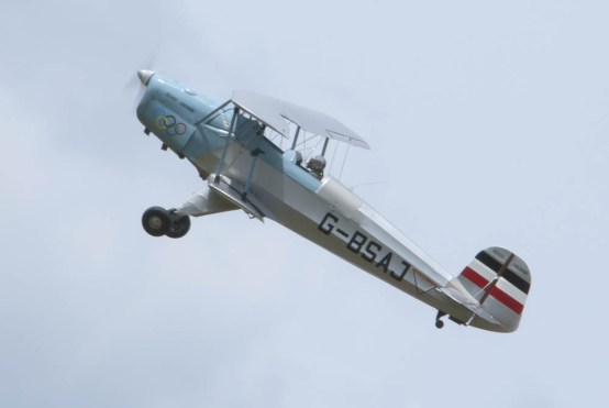 Bücker Jungmann G-BSAJ Flying Legends 2015