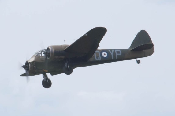 Bristol Blenheim Mk I L6739 G-BPIV Flying Legends 2015 - 01
