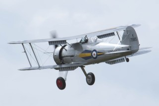 Gloster Gladiator K7985 Flying Legends 2015 - 01