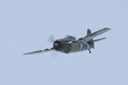 Grumman FM-2 Wildcat G-RUMW Flying Legends 2015 - 01