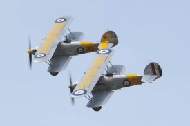 Hawker Nimrod K3661 and S1581 Flying Legends 2015 - 01