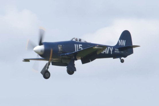 Hawker Sea Fury FB.11 F-AZXJ Flying Legends 2015 - 02