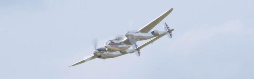 Lockheed P-38L Lightning N25Y - 04 Flying Legends 2015
