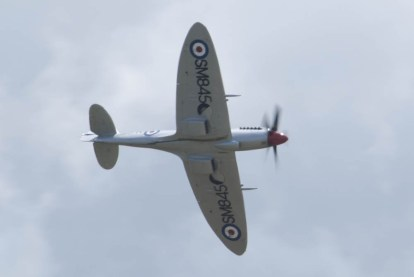 Spitfire Mk XVIII SM845 Flying Legends 2015