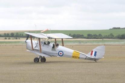 A Tiger Moth at Flying Legends 2015.