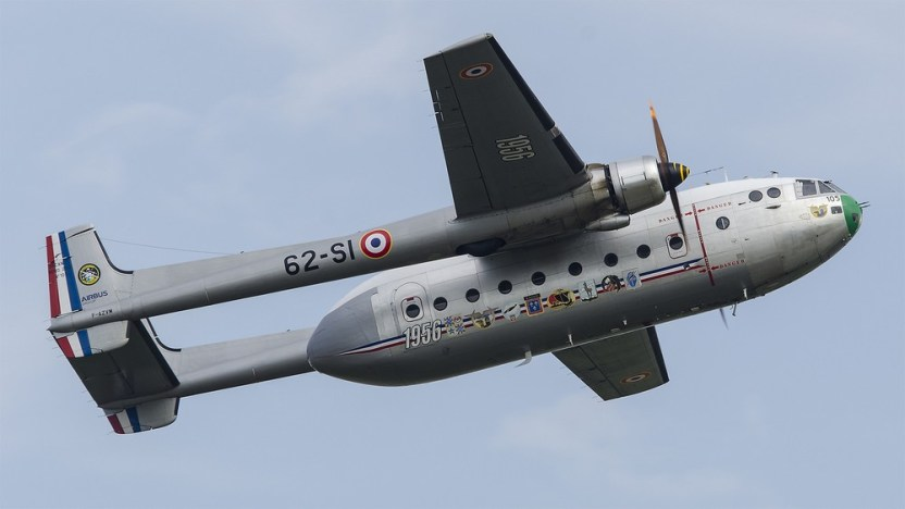 Nord 2501 Noratlas F-AZVM (Photo redskin83 (CC BY-NC-ND 2.0))