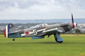 Yak-3 F-AZLY (Photo © Jean-Pierre Touzeau)
