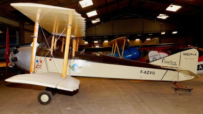Caudron C.270 Luciole F-AZVO (Photo Johnny Comstedt (CC BY-NC-ND 2.0) 1