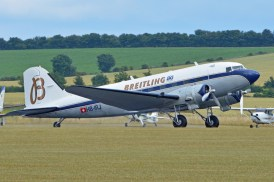 Le DC-3 Breitling (Photo Alan Wilson (CC BY-SA 2.0))